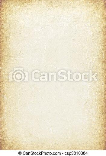 Grunge vintage manuscript background  - csp3810384