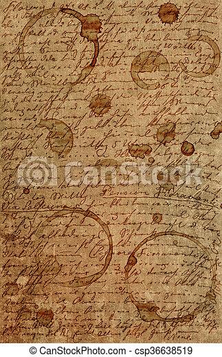 Grunge Vintage Paper Texture Background