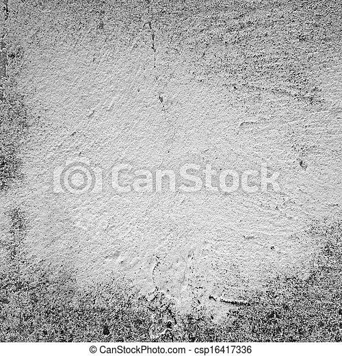 Grunge white background - csp16417336