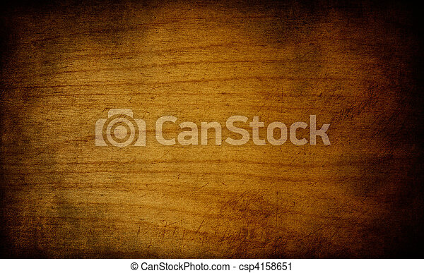 Grunge Wood Background - csp4158651