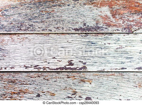 Grunge wood plank background texture - csp28440093