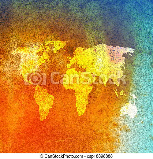 Grunge world map background grunge world map background csp18898888 gumiabroncs Choice Image