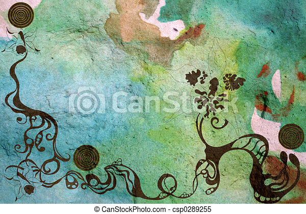 grungy background - csp0289255