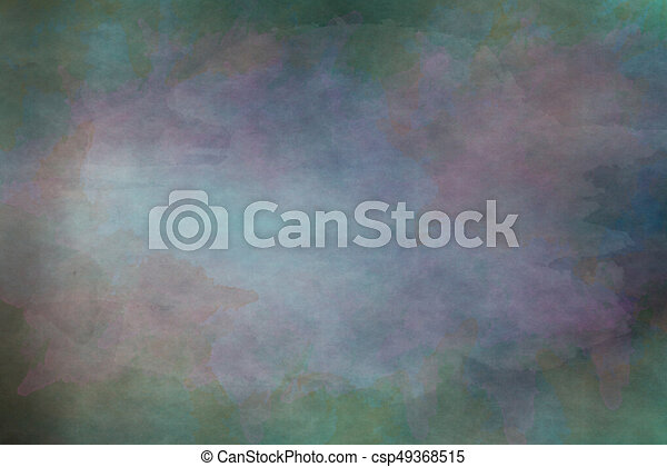 Grungy background with dark rainbow color - csp49368515