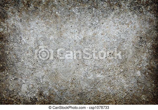 grungy, betonwand, hintergrund - csp1078733