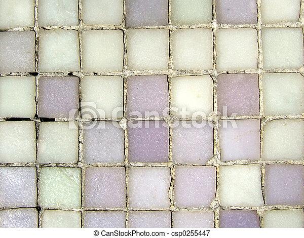 Grungy mosaic patter - csp0255447