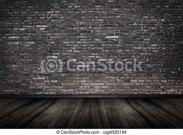 Grungy mur brique int rieur backgrou grungy mur - Mur de brique interieur ...
