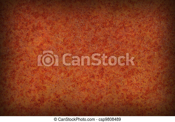 Grungy rusty mottled background texture - csp9808489