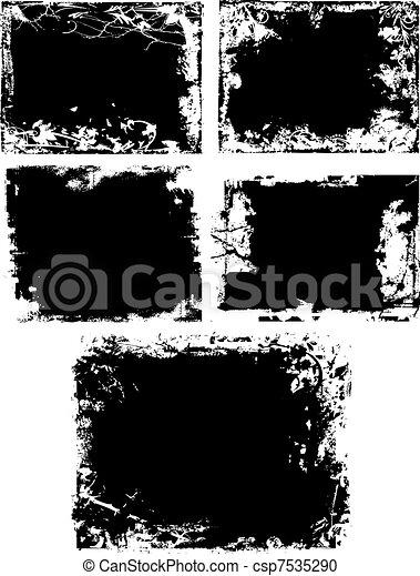 grungy texture - csp7535290