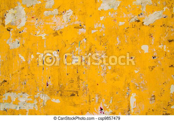 grungy wall - csp9857479