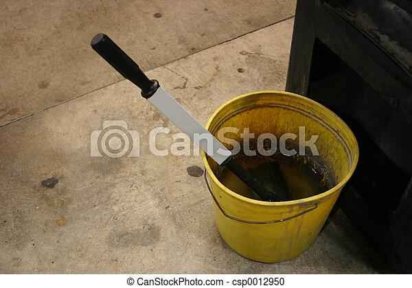 Grungy wash bucket - csp0012950