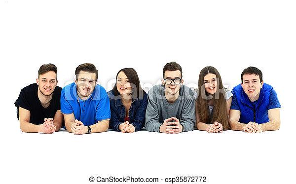 grupa, młodzież - csp35872772