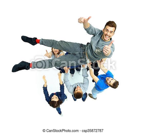 grupa, młodzież - csp35872787