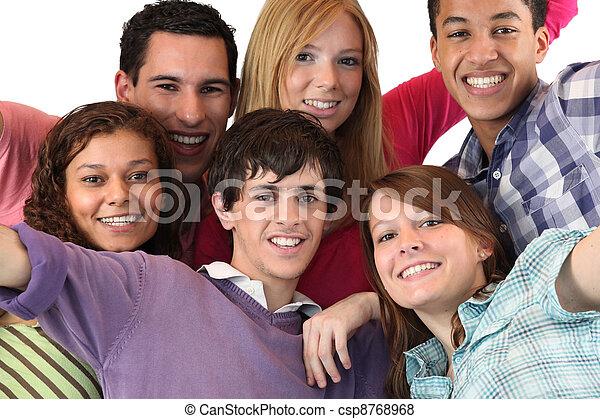 grupa, młodzież - csp8768968