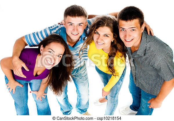 grupa, młodzież - csp10218154