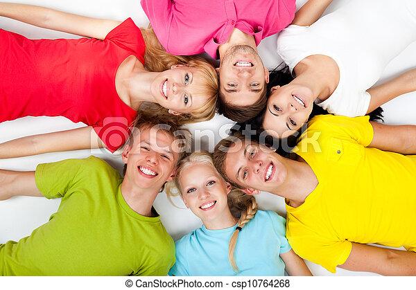 grupa, młodzież - csp10764268