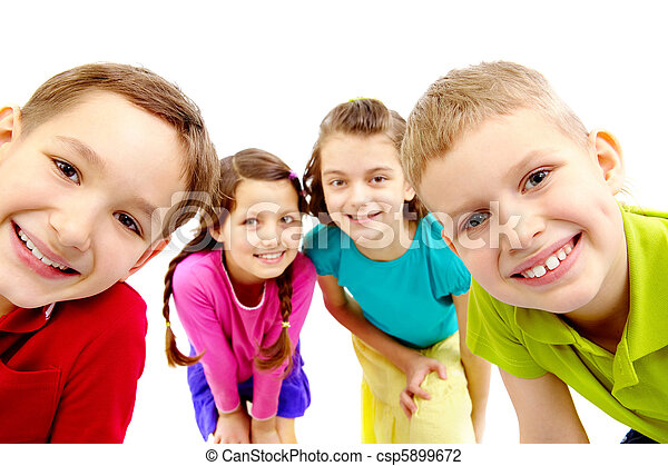 grupo, crianças - csp5899672
