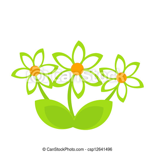 Daisy clump - csp12641496
