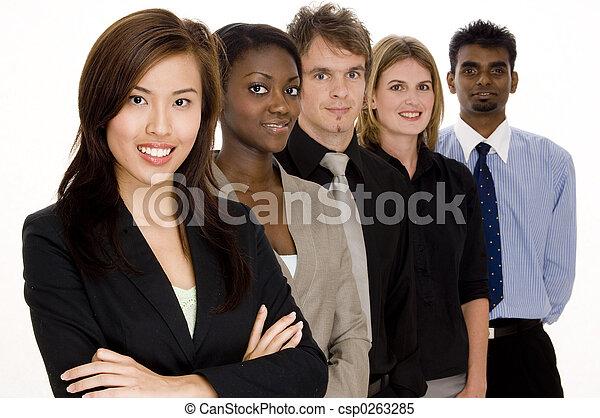 grupo, negócio - csp0263285