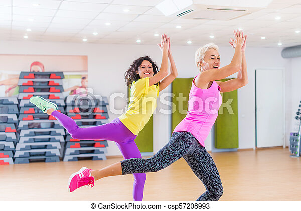 ejercicio de zumba para perder peso