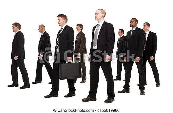 gruppe, forretningsmænd - csp5019966