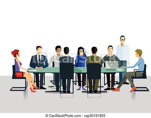 Gruppen Diskussion.eps - csp30191803