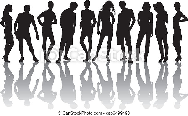 gruppo, amici - csp6499498