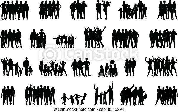 gruppo, persone - csp18515294