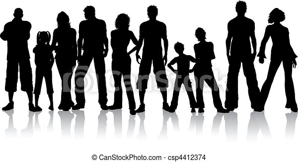 gruppo, persone - csp4412374