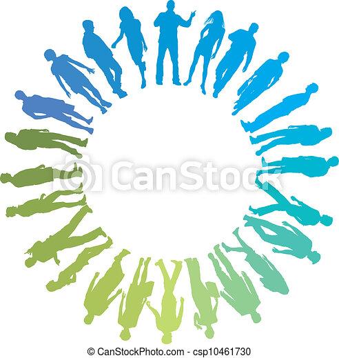 gruppo, persone - csp10461730