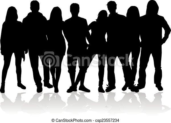 gruppo, persone - csp23557234