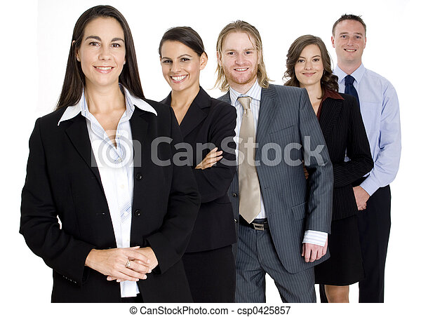 gruppo, squadra affari - csp0425857