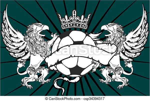 Gryphon Soccer Crest Background3   Csp34394317