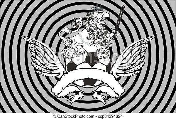 Gryphon Soccer Crest Background5   Csp34394324