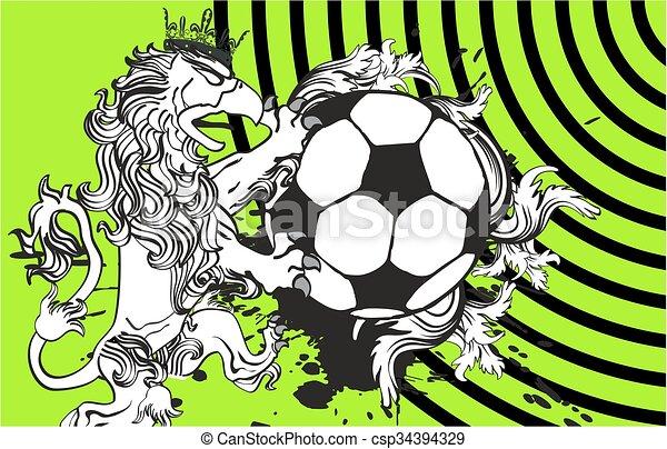 Gryphon Soccer Crest Background6   Csp34394329