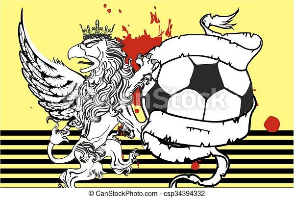 Gryphon Soccer Crest Background7   Csp34394332