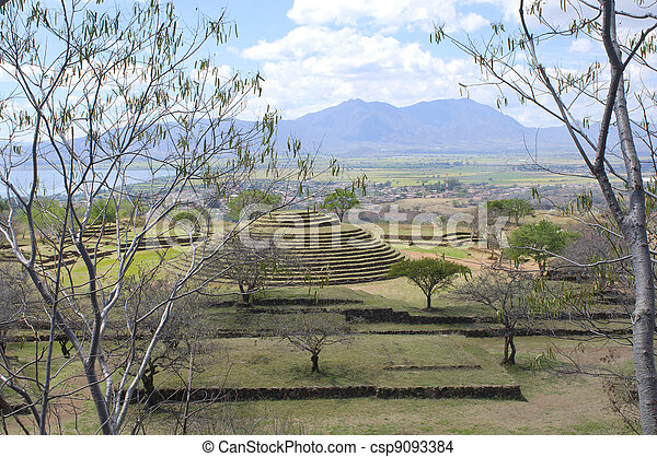 Guachimontones at Teuchitlan and Environs - csp9093384