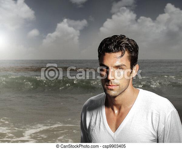 Hombre guapo - csp9903405