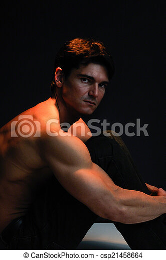 Hombre guapo - csp21458664