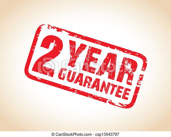 guarantee stamp - csp13543797