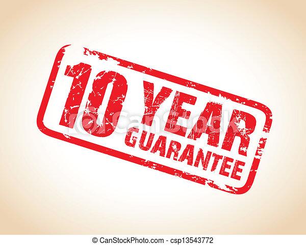 guarantee stamp - csp13543772