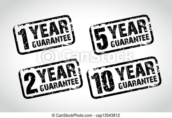 guarantee stamps - csp13543812