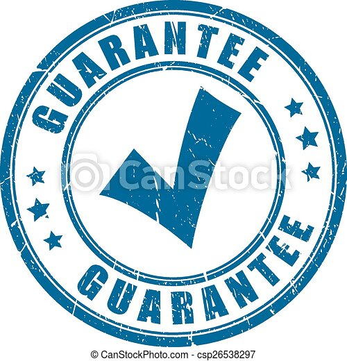 Guarantee tick stamp - csp26538297