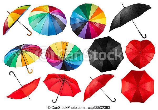 guarda-chuva, cobrança - csp38532393