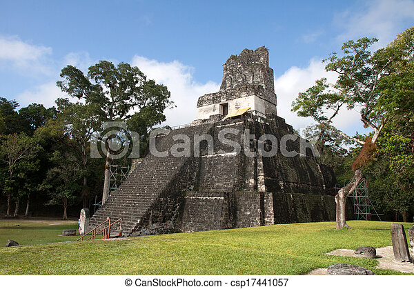guatemala, tikal - csp17441057