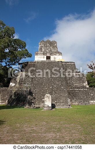 guatemala, tikal - csp17441058