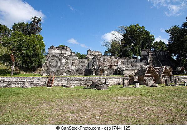 guatemala, tikal - csp17441125