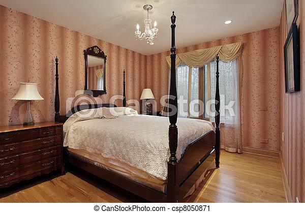 Guest bedroom - csp8050871
