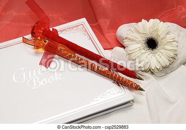 Guest Book - csp2529883