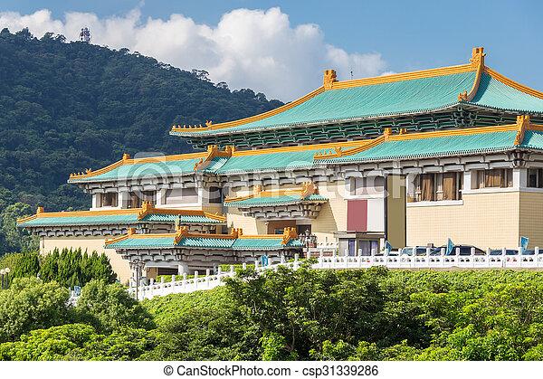 Gugong National Museum Taipei - csp31339286